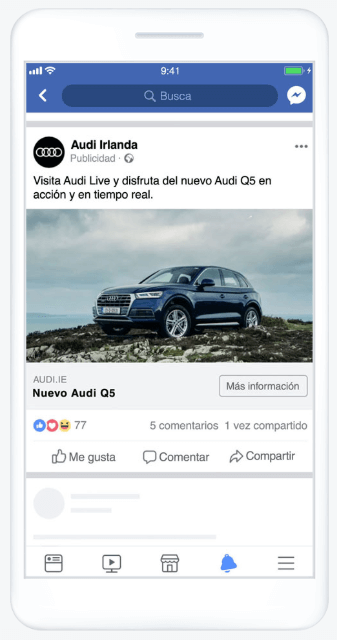 Facebook Ads with photos